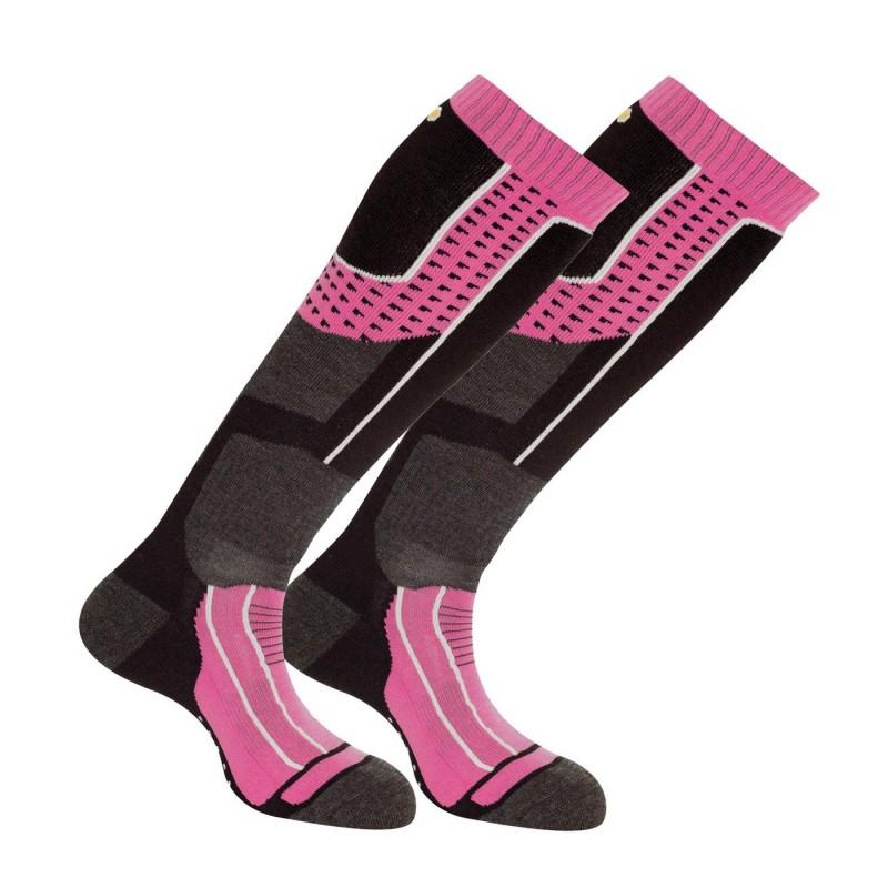 Lot de 2 paires de chaussettes de ski Isoltech 2