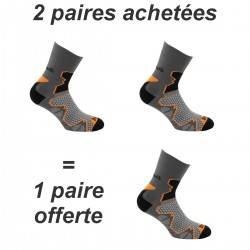 Mi chaussette  LA DOUBLE-TREK MIND