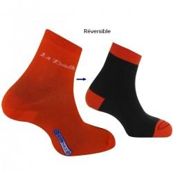 Socquettes trekking La Double® Club Réversible