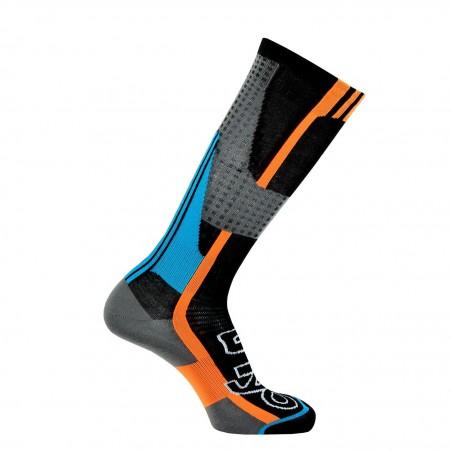 Chaussettes de ski Nordic Light noir/turquoise